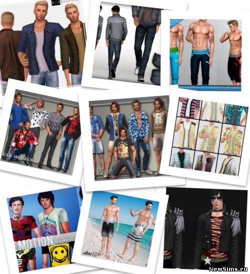 Sims 3 Мужская Одежда Скачать