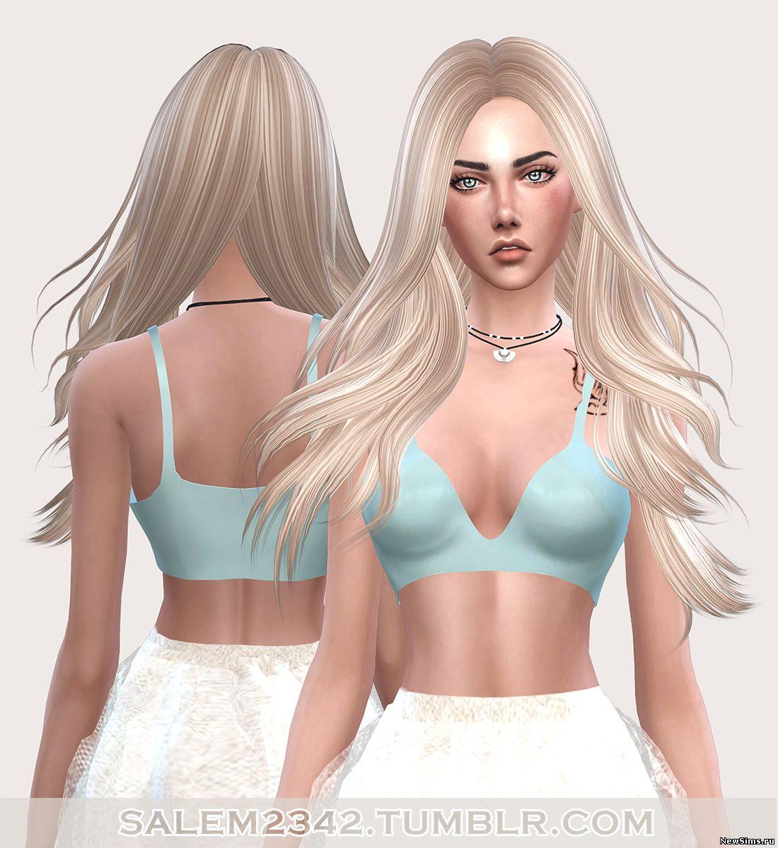 Sims 4 скачать причёски