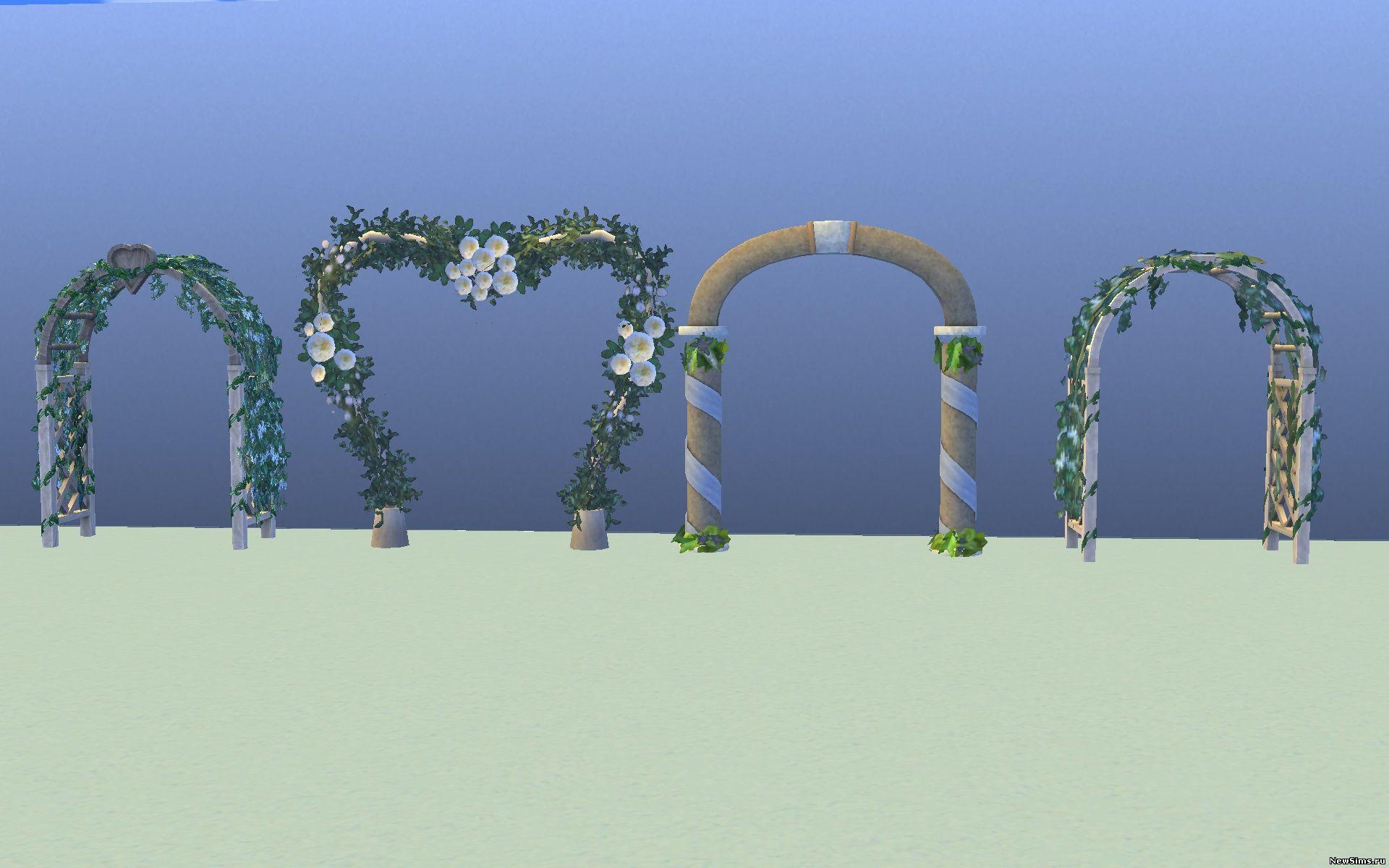 Свадебная арка симс 4 где