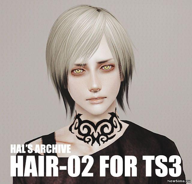 Скачать причёски для симс 3 для мужчин