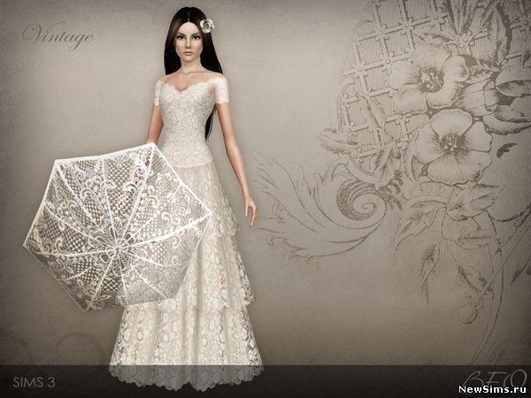 Свадебные платья для симс 4 скачать