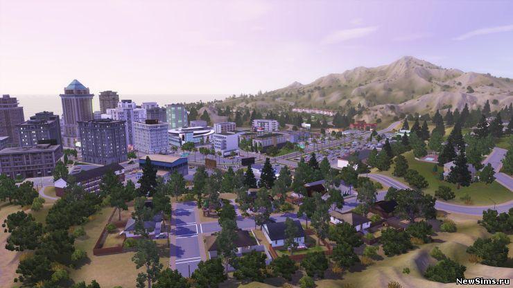 Симс 3 Город