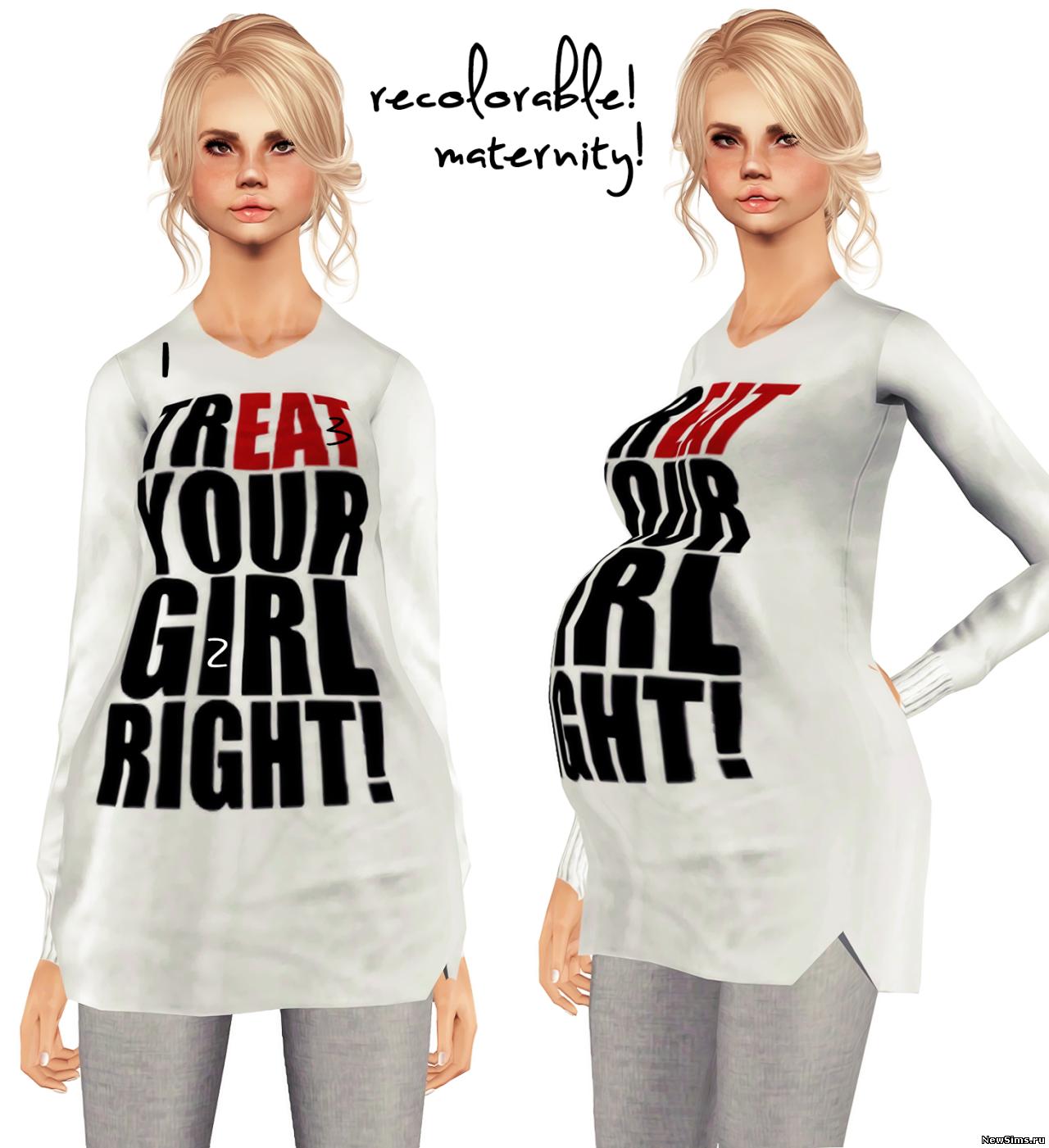 Одежда для беременных симс 3 скачать бесплатно и регистрации.