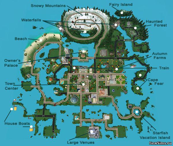 Скачать Транспорт для Sims 2
