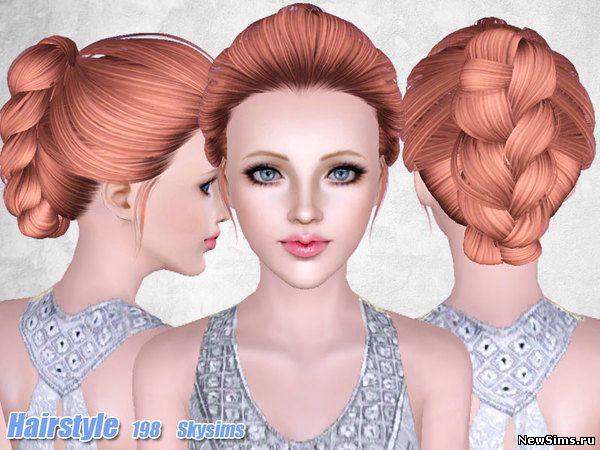Женщины | Прически - Страница 2 Skysims-Hair-198_1