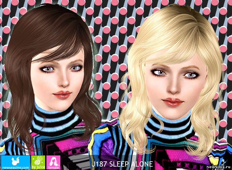 Женщины | Прически - Страница 2 J187_Sleep_Alone_by_Newsea_1