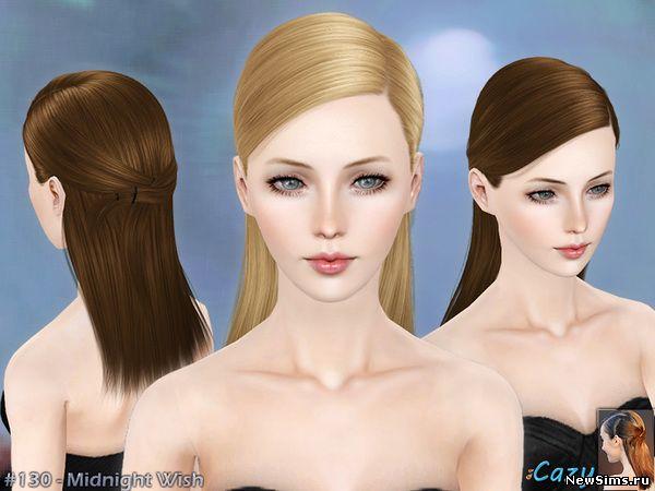 Женщины | Прически - Страница 2 Midnight_Wish-Hairstyle_Set_1