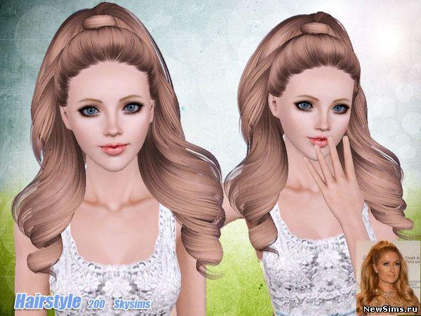 Женщины | Прически - Страница 2 Skysims-Hair-200_1