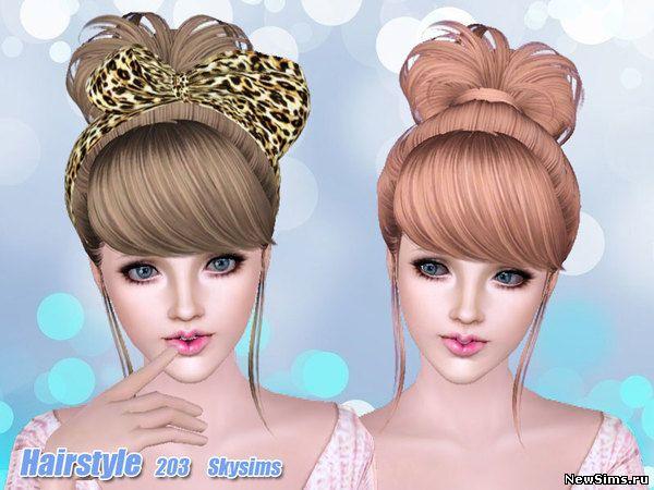 Женщины | Прически - Страница 2 Skysims-Hair-203_1