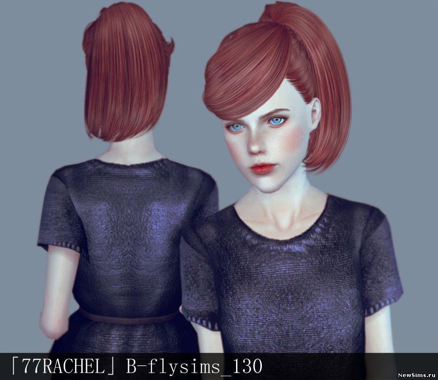 Женщины | Прически Butterflysims_130_Retexture_by_77rachel