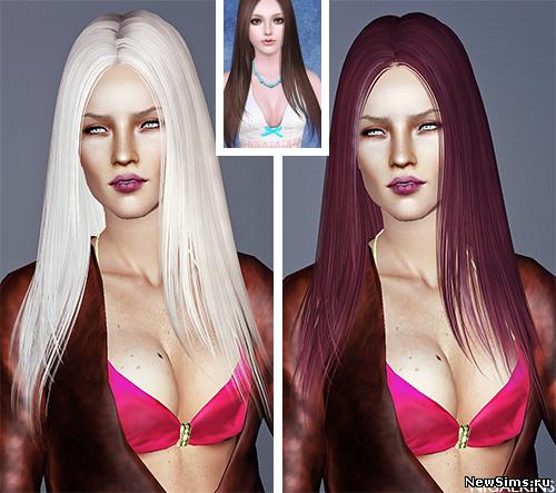 Женщины | Прически Butterflysims_Hair_123_Retexture