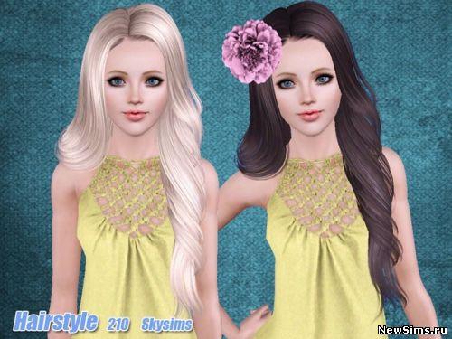Женщины | Прически Skysims-Hair-210_1