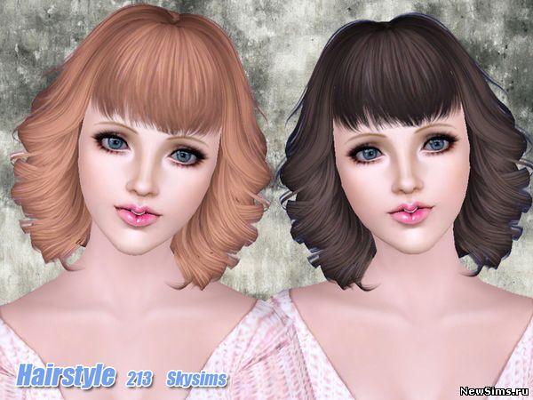 Женщины | Прически Skysims-Hair-213_1