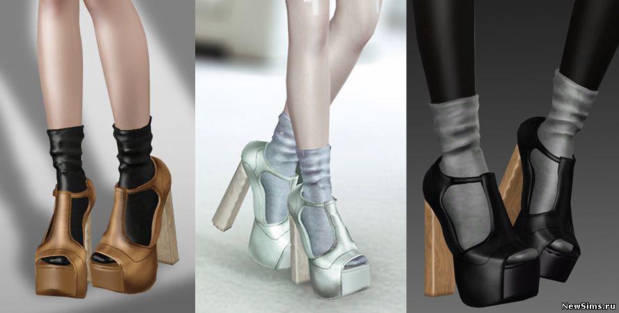 Обувь для симс 3 в формате package