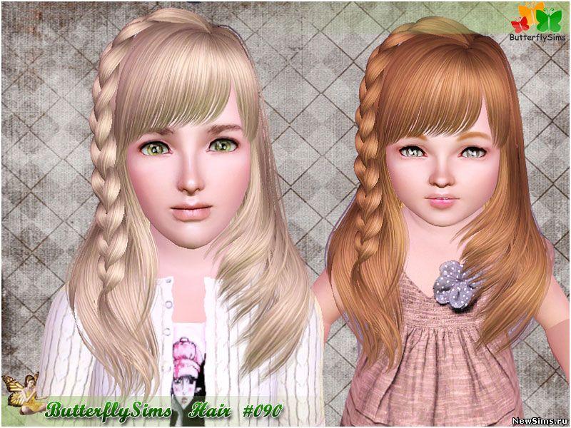 скачать моды для симс 4 причёски для детей