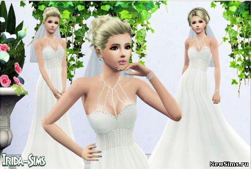 Причёски для свадьбы для симс 3
