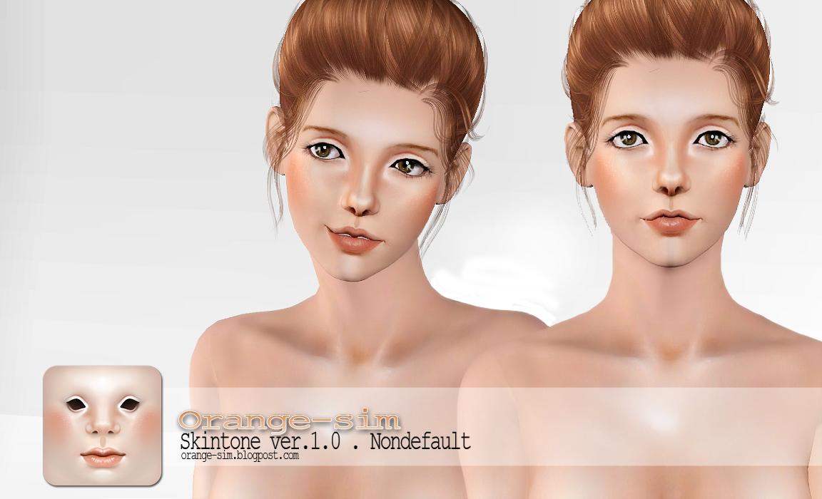 Sims 3 скины Тела