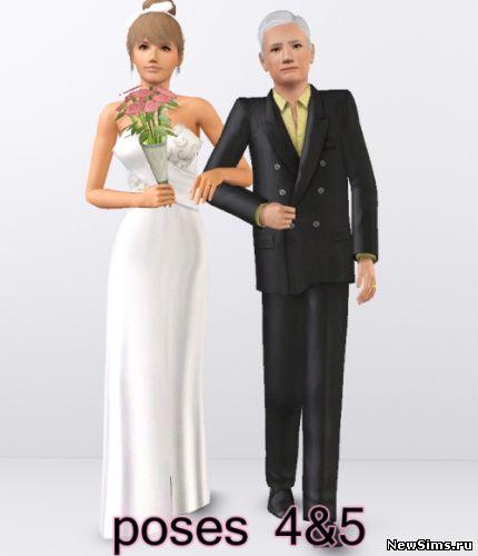 Wedding Altar In Sims 3: Downloads For TS3: Poses De Casamento