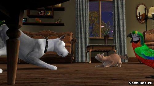 The Sims 3: Питомцы / The Sims 3: Pets - 19 Октября 2011 - Скачать бесплатно дополнения для симс 3 симс 4 Sims 4