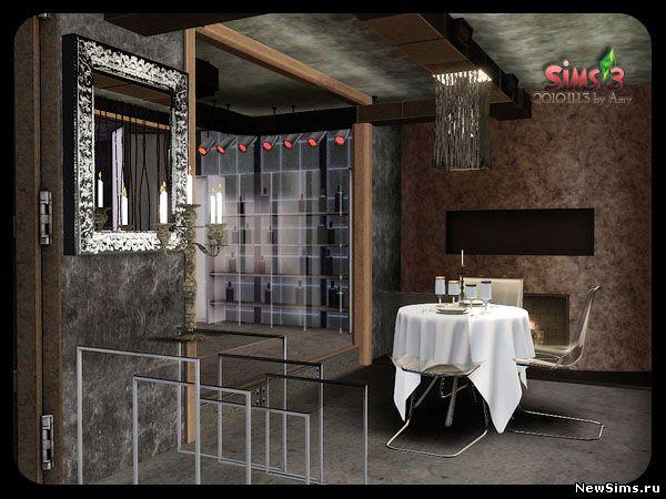 Красивые дома в симс 3