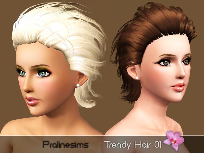 Загрузки симс 3 причёски