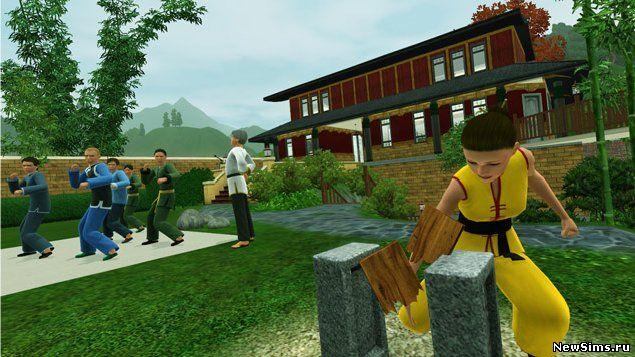The sims 3 мир приключений the sims 3 world